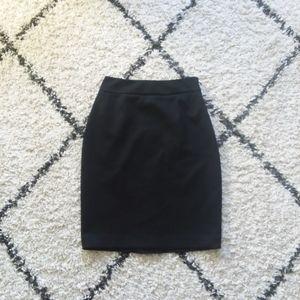Tahari black pencil skirt